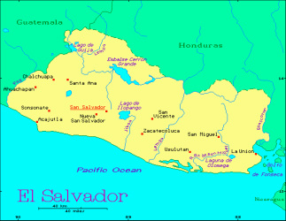 Land and Climate - El Salvador Pacific Ocean Water